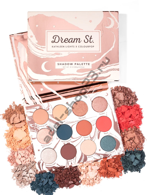 Colourpop - тени для век dream st.