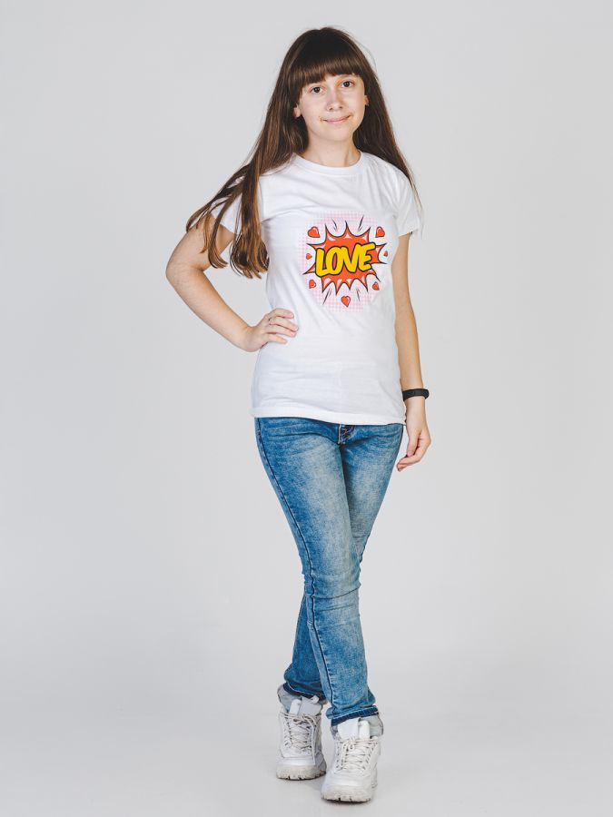 Love футболка женская