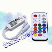 Wi-Fi RGB Контроллер 9-28B беспроводной Телефон App управления+Пульт 12A