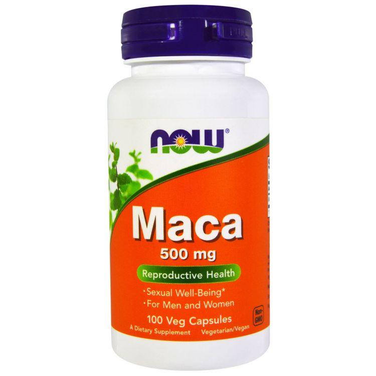 Maca  500 мг от NOW 100 капсул (мака перуанская экстракт)