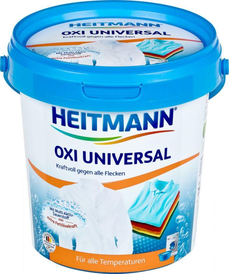 Heitmann Oxi Universal Мощный универсальный пятновыводитель  750 гр