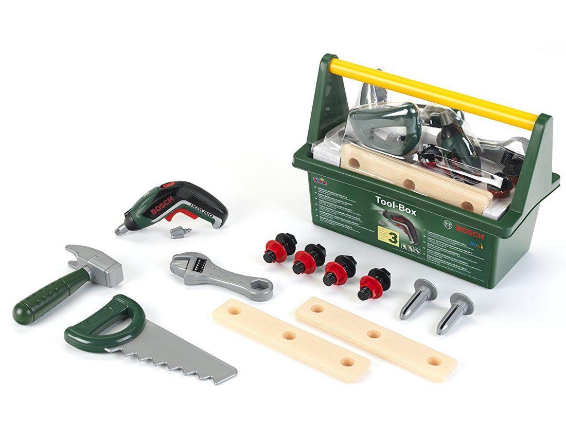 Ящик для инструментов со звуками отвертки Bosch Klein 8345