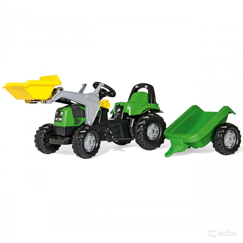 Трактор педальный Rolly Toys 023134