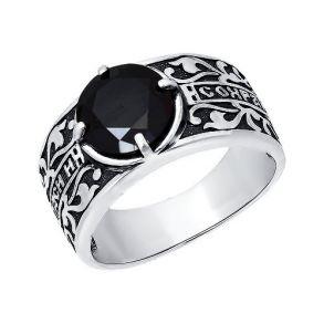 Кольцо православное «Спаси и сохрани» 95010067 SOKOLOV