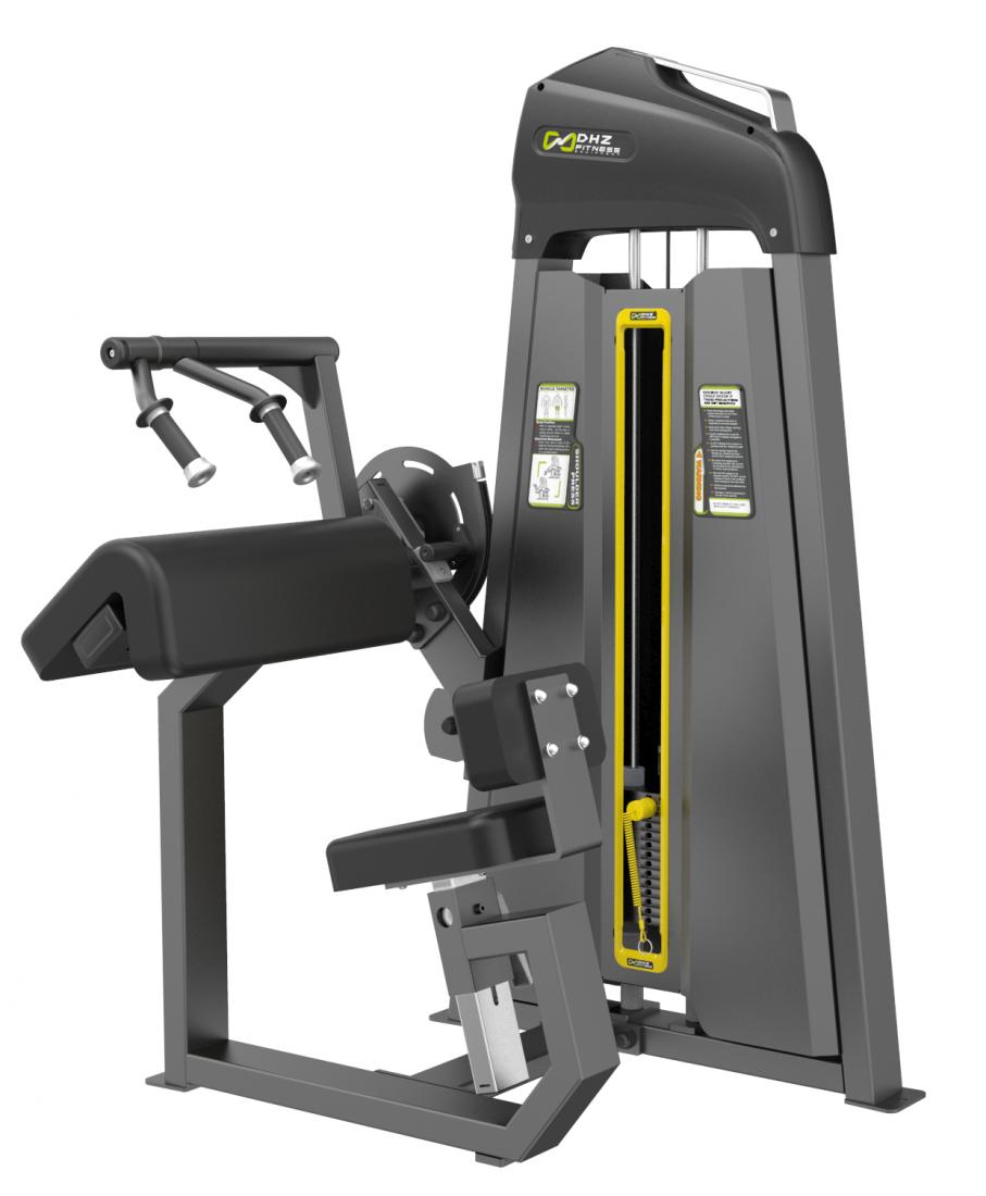 E-3028 Трицепс-машина сидя. Наклонная парта (Tricep Extansion). Стек 105 кг.