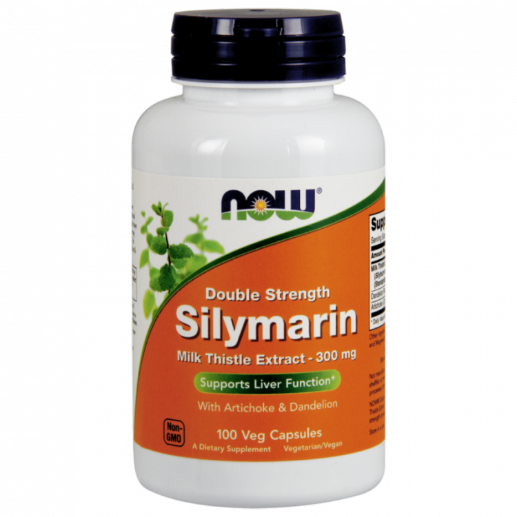 Silymarin 300 мг от NOW 100 кап