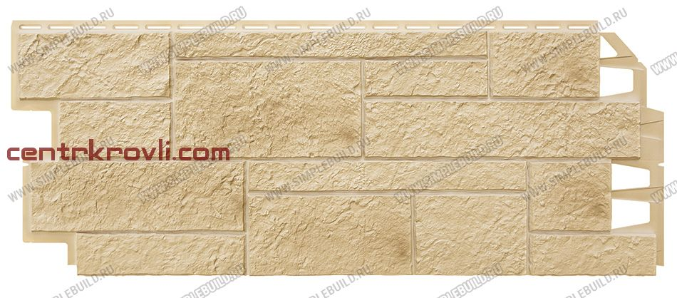 Фасадная панель «VOX», Solid Sandstone Cream 1000*420