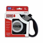 KONG Reflect M (до 30 кг) Рулетка серая (лента 5 м)
