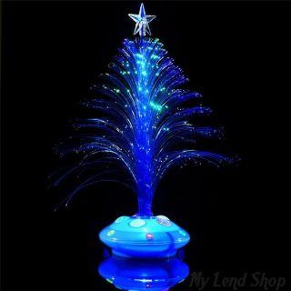 Светящаяся LED елочка, 32 см, Цвет: Синий