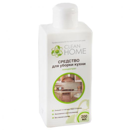 Средство Clean Home 200мл д/уборки кухни концентрат