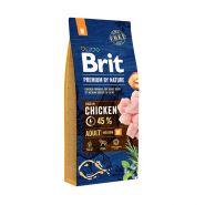 BRIT Premium by Nature Adult M Корм для взрослых собак средних пород (18 кг)
