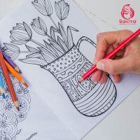 Раскраска-антистресс от Golova