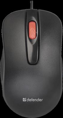НОВИНКА. Проводная оптическая мышь Point MM-756 черный,3 кнопки,1000 dpi