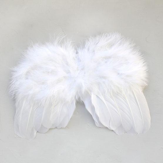 Кукольный аксессуар Крылья-ангел-белые