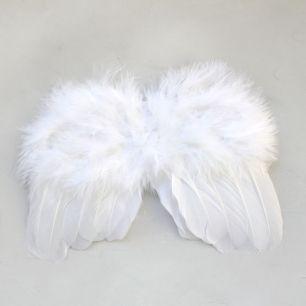 Кукольный аксессуар Крылья ангела белые 15 см