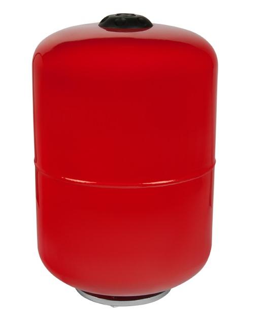 Расширительный бак 150 л. на отопление  (цвет красный)