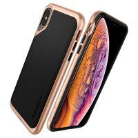 Чехол SGP Spigen Neo Hybrid для iPhone XS Max золотой: купить недорого в Москве — выгодные цены в интернет-магазине противоударных чехлов для телефонов айфон XS Max — «Elite-Case.ru»