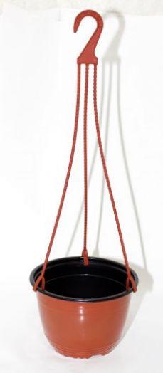 Горшок с подвеской технический для цветов 3л Милих
