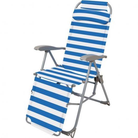 Кресло-шезлонг 3 складное К3