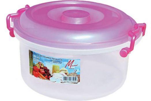 Контейнер для пищевых продуктов 5 л. Милих