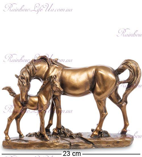 """Фигурка лошадь с жеребенком бронза """"MN"""""""
