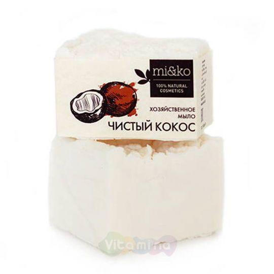 Mi&Ko Хозяйственное мыло Чистый кокос, 175 г