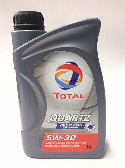 Масло  моторное Total QUARTZ INEO ECS 5W30 1л  166252