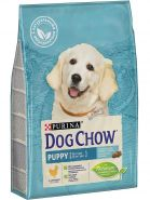 DOG CHOW Puppy Chicken Корм для щенков (до 1 года) с курицей (2,5 кг)