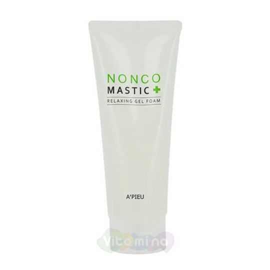 A'Pieu Успокаивающая гелевая пенка для умывания Nonco Mastic Relaxing Gel Foam, 150 мл