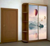 Наклейка на шкаф - Воздухоплаватели | магазин Интерьерные наклейки