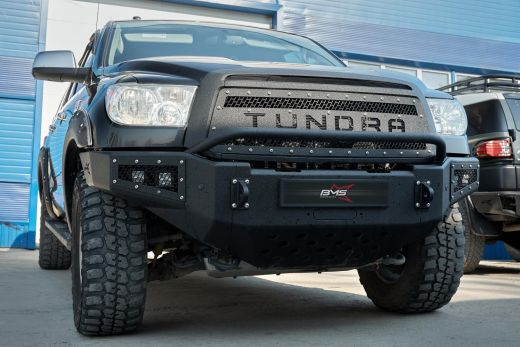 Бампер силовой передний BMS листовой Toyota Tundra 2007-2013
