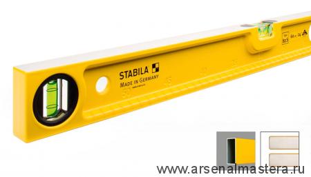 Уровень строительный литой STABILA тип 82S 60см 1 вертикальный, 1 горизонтальный арт.02595
