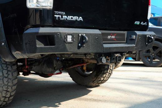Бампер силовой задний BMS листовой Toyota Tundra 2007-2013