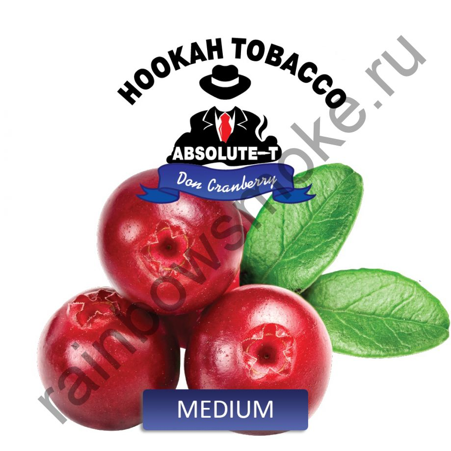 Absolute -T Medium 100 гр - Don Cranberry (Клюква)