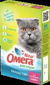 Омега Neo+ Мультивитаминное лакомство для кастрированных кошек (90 табл.)