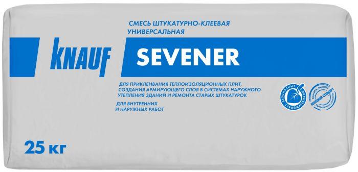 Штукатурно-клеевая смесь для теплоизоляции Knauf Севенер, 25 кг