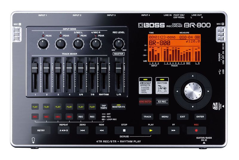 BOSS BR-800 Цифровая портастудия