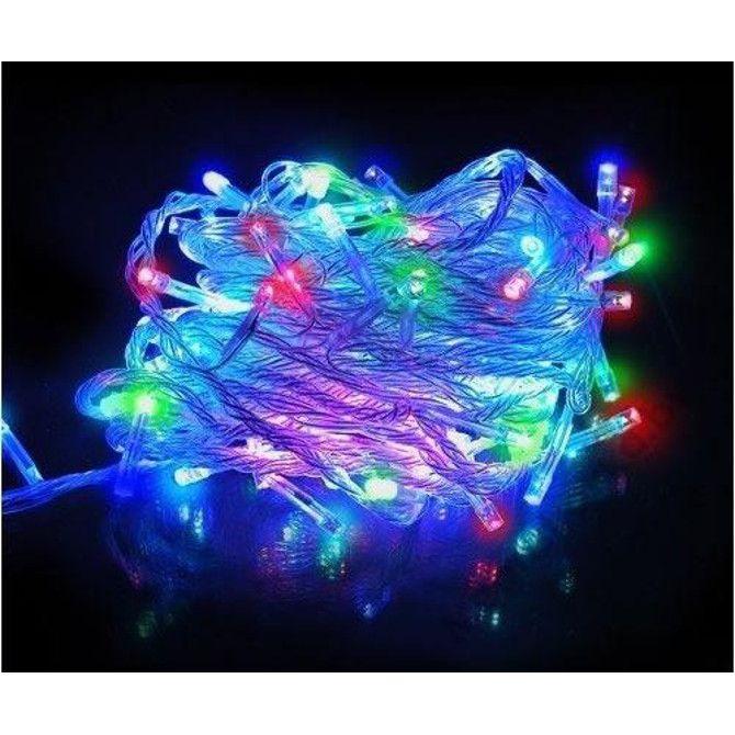Светодиодная Гирлянда 200 LED 8 м, Цвет Свечения Разноцветный