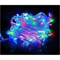Светодиодная гирлянда LED, цвет разноцветный