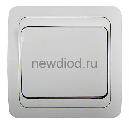 Выключатель 1кл CLASSICO белый 2021 IN HOME
