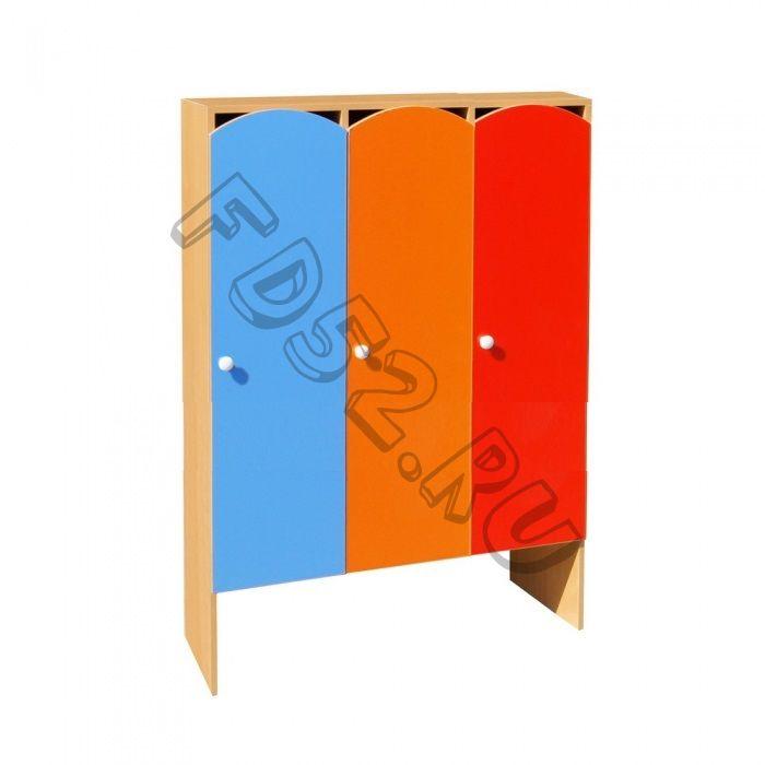 Шкаф для одежды 3-х секционный ШНДР