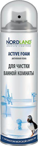 Nordland Активная пена для чистки ванной комнаты (Морская) 600 мл