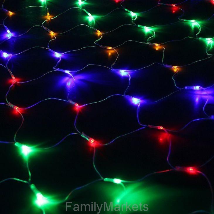 Светодиодная гирлянда Сетка 320 LED, 2.2х2.2 м