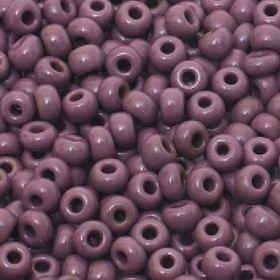 Бисер чешский 23040 фиолетовый непрозрачный Preciosa 1 сорт