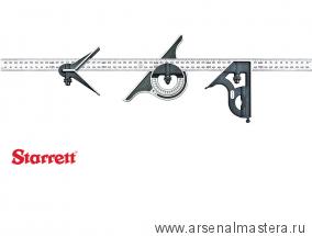 Набор измерительный Starrett 9M-600 4 предмета, с линейкой 600мм 9M-600 / 56254 М00008449