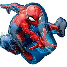 "Шар фигура ""Человек-паук"""