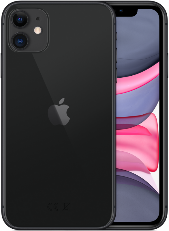 Apple iPhone 11 64GB Black (MWLT2RU/A)