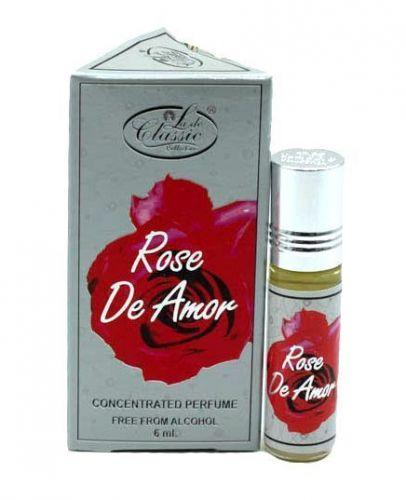 Арабские масляные духи Rose De Amor | Роз де Амор | 6 мл | Lade Classic | Женские