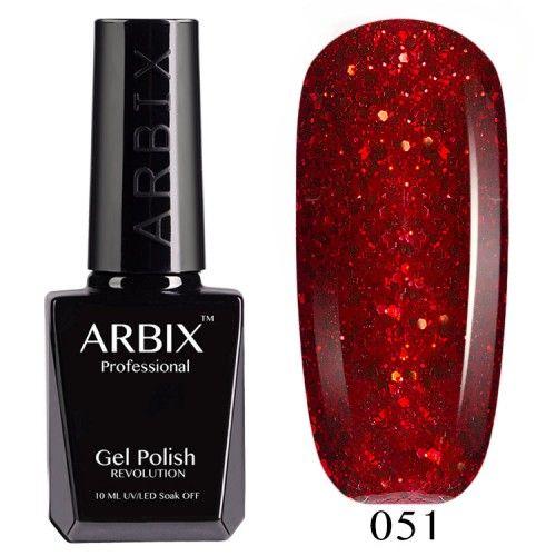 Гель-лак Arbix №051 Огни Барселоны