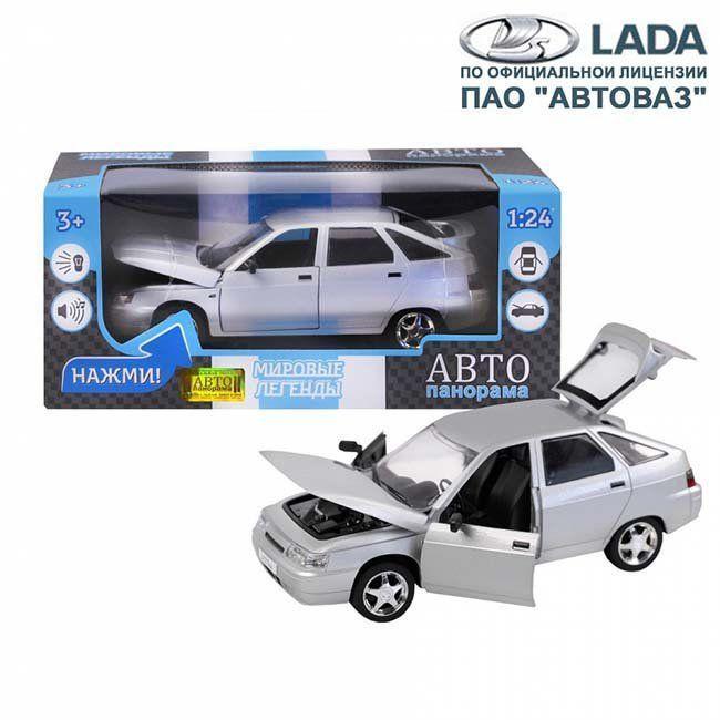 Модель 1200162JB ВАЗ 2112 1:22 Автопанорама